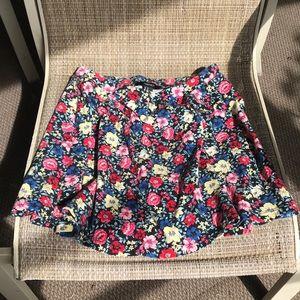 Forever 21 floral skirt Med